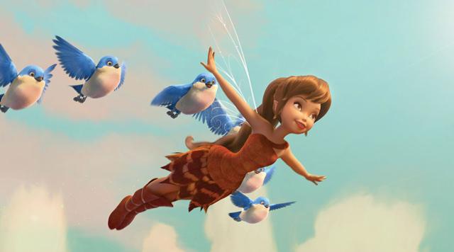 Imagenes De La Pel 237 Cula Tinker Bell Y La Bestia De Nunca