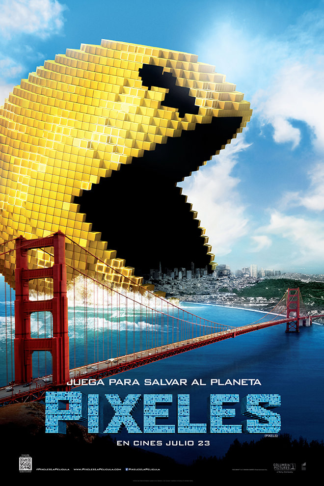 Poster De La Pel 237 Cula Pixeles