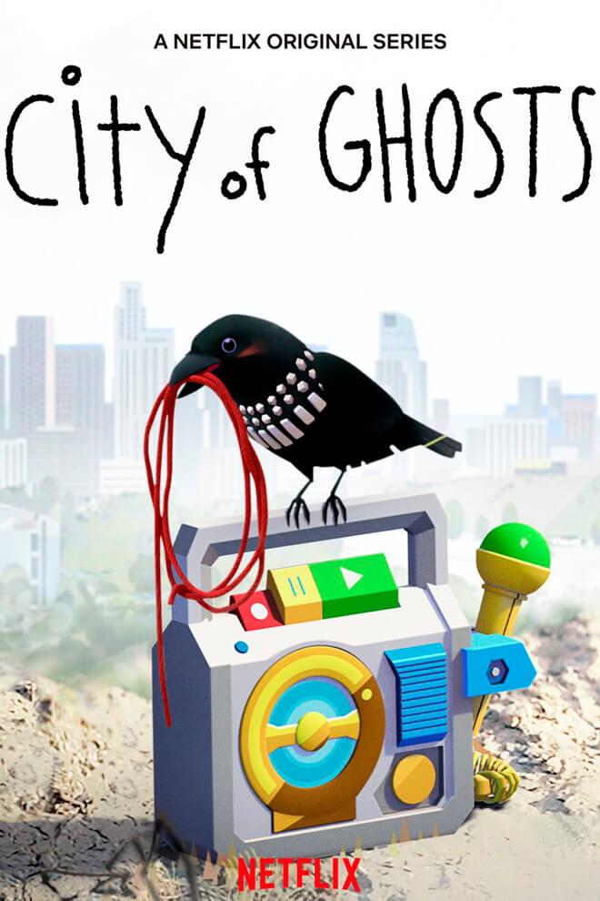 Poster de la Caricatura: City of Ghosts