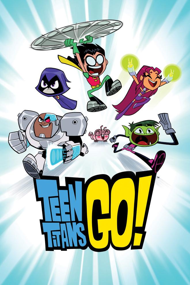 Poster de la Caricatura: Teen Titans Go!