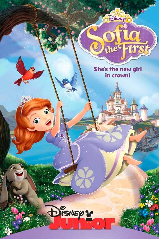 Poster de la Caricatura: La princesa Sofía
