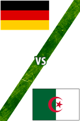 Alemania vs. Argelia