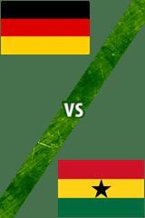 Alemania Vs. Ghana