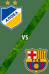 APOEL Nicosia vs. Barcelona