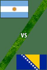 Argentina Vs. Bosnia-Herzegovina