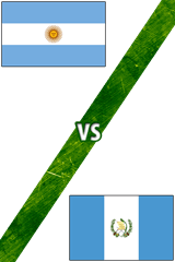 Argentina vs. Guatemala
