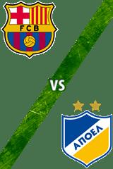 Barcelona vs. APOEL Nicosia
