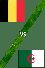 Bélgica Vs. Argelia