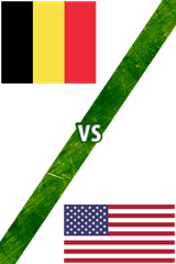 Bélgica vs. Estados Unidos