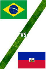 Brasil vs. Haití
