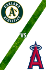 Athletics Vs. Angels