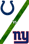 Colts vs. Giants