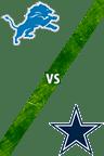 Lions vs. Cowboys