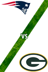 Patriots vs. Packers