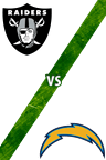 Raiders vs. Chargers