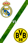 Real Madrid Vs. Borussia Dortmund