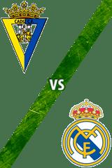 Cádiz vs. Real Madrid