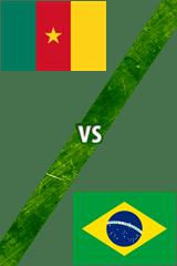 Camerún Vs. Brasil