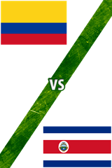 Colombia vs. Costa Rica