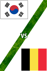 Corea del Sur Vs. Bélgica