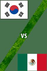 Corea del Sur vs. México