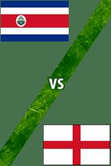 Costa Rica Vs. Inglaterra
