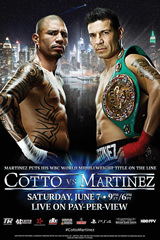 Cotto Vs. Martinez