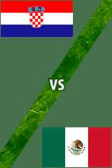Croacia Vs. México