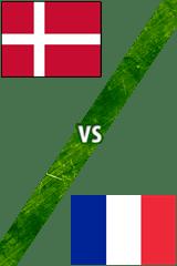 Dinamarca vs. Francia