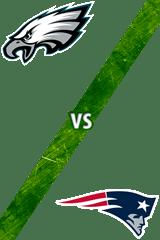Eagles vs. Patriots