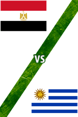 Egipto vs. Uruguay