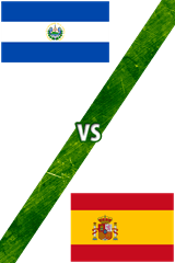 El Salvador Vs. España