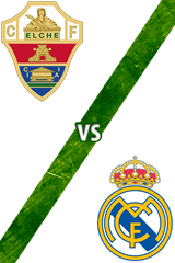 Elche Vs. Real Madrid