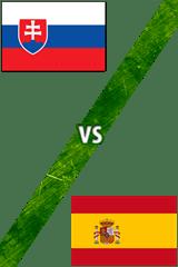 Eslovaquia vs. España