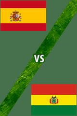 España Vs. Bolivia