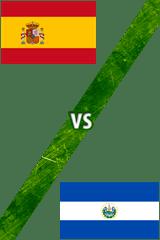 España Vs. El Salvador