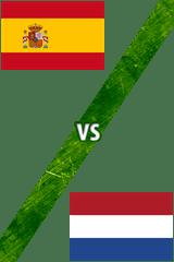 España Vs. Holanda