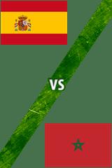España vs. Marruecos