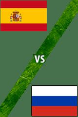 España vs. Rusia