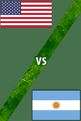 Estados Unidos vs. Argentina