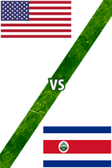 Estados Unidos vs. Costa Rica