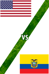 Estados Unidos vs. Ecuador