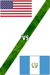Estados Unidos vs. Guatemala