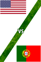 Estados Unidos Vs. Portugal