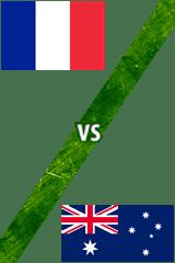 Francia vs. Australia