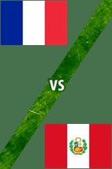 Francia vs. Perú