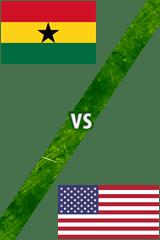 Ghana Vs. Estados Unidos