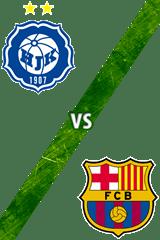 Hjk Helsinki vs. Barcelona