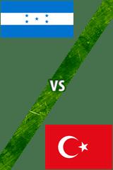 Honduras Vs. Turquía