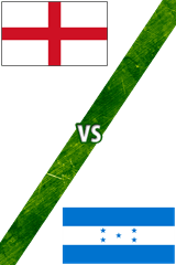 Inglaterra Vs. Honduras